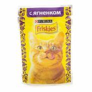 Friskies  Влажный корм для кошек с ягненком (пауч 85 г)