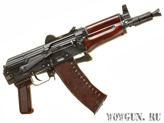 АКС 74у - охолощенный стреляющий макет. АКСУ СХП