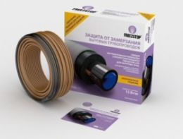Комплект для обогрева труб кабель Freezstop Lite-15-5