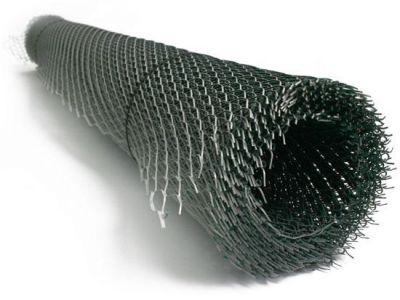Сетка цельнометаллическая просечно-вытяжная (ЦПВС) черная