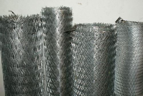 Сетка просечно-вытяжная (ЦПВС) оцинкованная толстая 1х7м