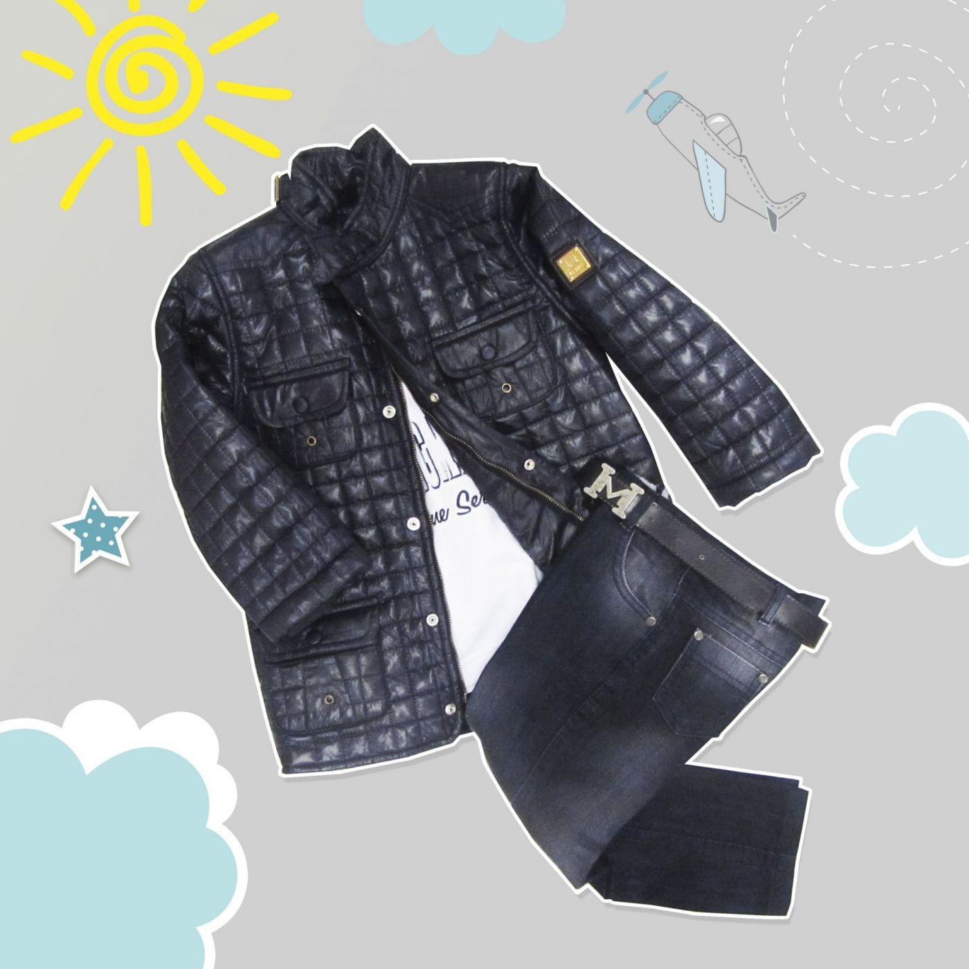 """Костюм """"Парус"""" (Куртка+кофта+джинсы+ремешок)"""
