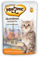 Мнямс  Кухни мира Цыпленок маренго для котят (85 г)