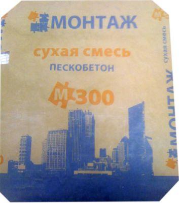 "Пескобетон М-300 ""Монтаж"" (40;50 кг)"