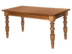 Стол обеденный (массив, точенная нога)