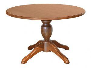 Стол обеденный круглый (массив)