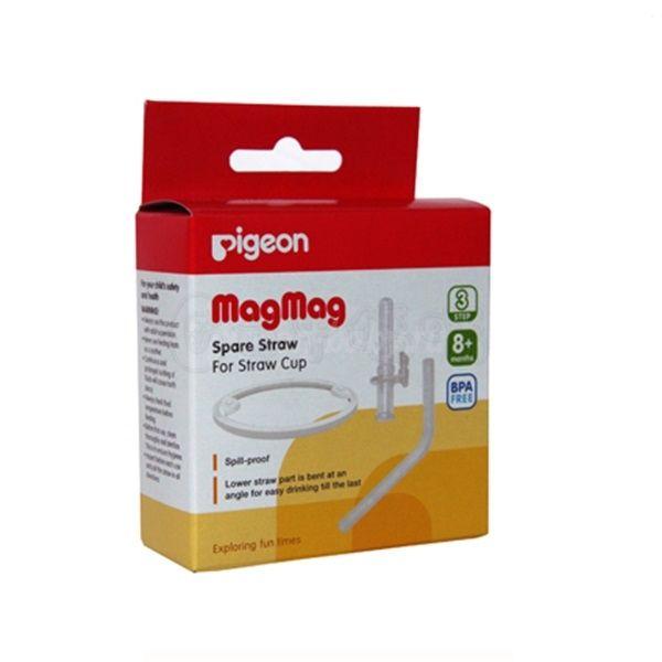 """Pigeon Трубочка + Кольцо запасные для чашки-поильника """"Mag Mag"""""""