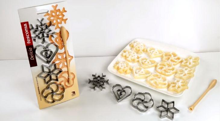 Формочки для вафельного печенья DELICIA TESCOMA 4 шт 630048