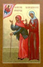 Икона Ксения Петербургская и Матрона Московская
