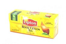 Чай Липтон пакетики 25 шт