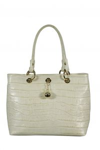 Бежевая сумка Gaude
