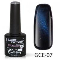 Гель-лак GCE-07 «Кошачий глаз» Lady Victory 7,3 мл.