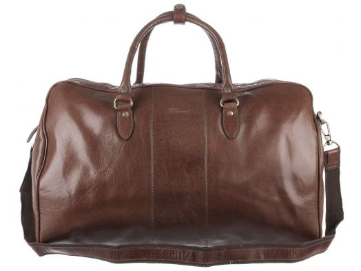 Дорожная сумка Ashwood Leather Chelsea Charles Chestnut Brown