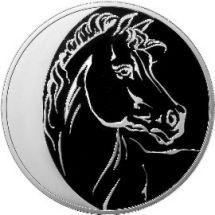 3 рубля 2014 г. Лошадь