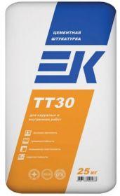 Штукатурка цементная ЕК ТТ-30 (25 кг)