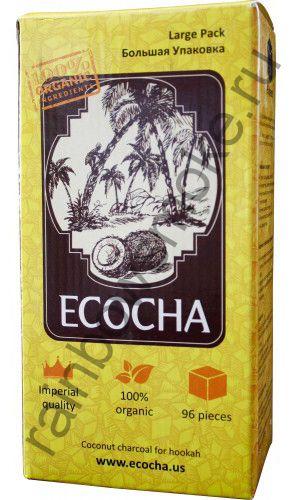 Уголь для кальяна Ecocha (96 шт)