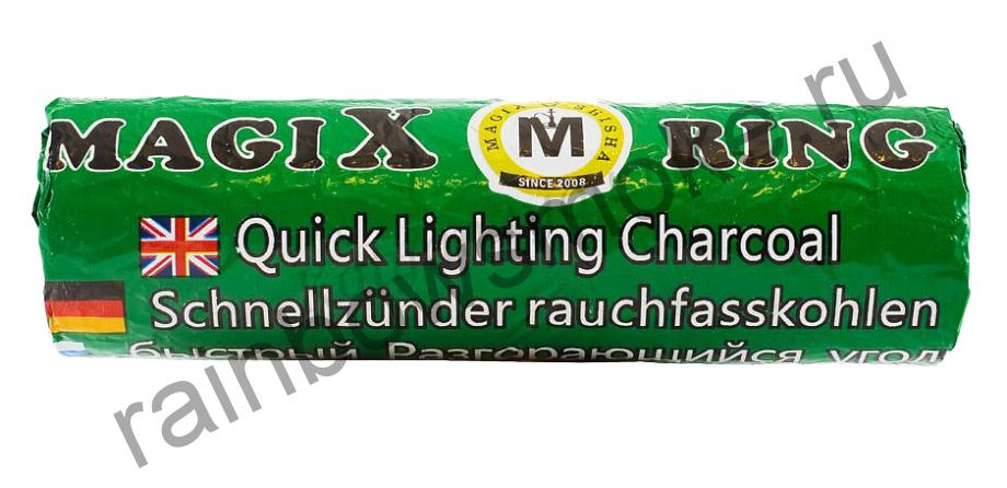 Уголь для кальяна Magix RING 35 мм (Туба)