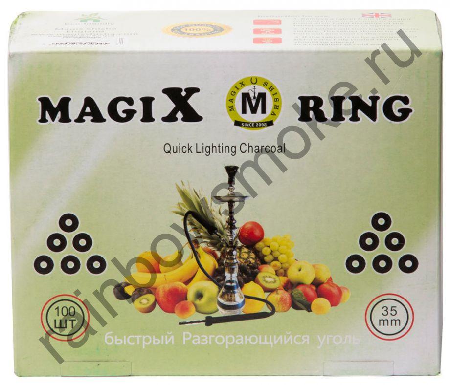 Уголь для кальяна Magix RING 35 мм (Коробка)