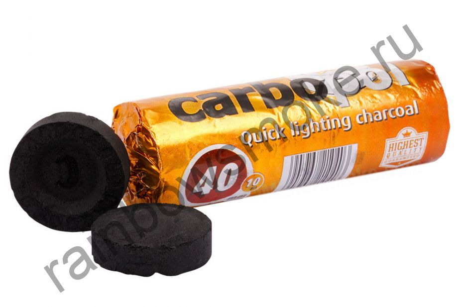 Уголь для кальяна Carbopol 40 мм (Туба)
