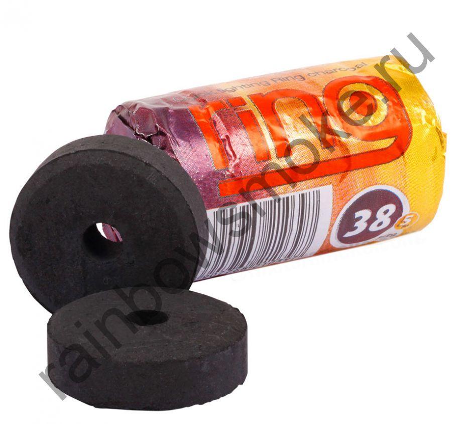 Уголь для кальяна Carbopol RING 38 мм (Туба)
