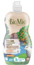 BioMio средство для мытья посуды Bio-Care с экстрактом хлопка и ионами серебра 450 мл