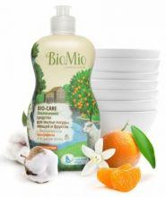 Bio-Mio средство для мытья посуды Bio-Care с эфирным маслом мандарина 450 мл