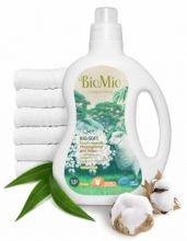 Bio-Mio кондиционер для белья Bio-Soft с эфирным маслом эвкалипта и экстрактом хлопка 1,5 л