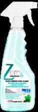 Zero Спрей для очищения стекол и зеркал на натуральном белом уксусе+мята, 420 мл