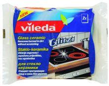 """Vileda губка """"Glitzi"""" для стеклокерамических плит, 2 шт"""