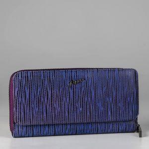 Кошелек женский 1500950; кожа; пурпурный