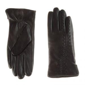 Перчатки женские 02104715348_10; кожа; кофе (Размер 8)