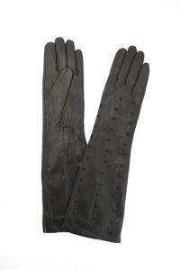 Перчатки женские SW9193; кожа; серый (Размер 7,5)