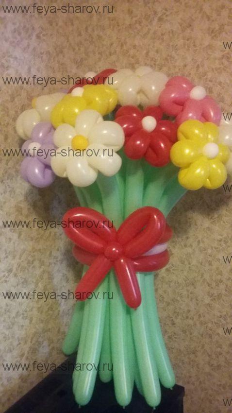 Букет цветов (17шт)