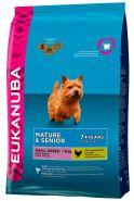 Eukanuba Mature&Senior Small Breeds Корм для пожилых собак мелких пород (1 кг)