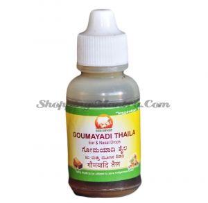 Капли для ушей и носа Гомаяди Тайла Гоу Ганга / Gou Ganga Gomayadi Thaila Ear and Nasal Drops
