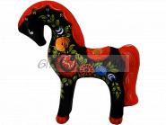 Расписная игрушка «Конь расписной» VIP Сувенир Городецкая роспись