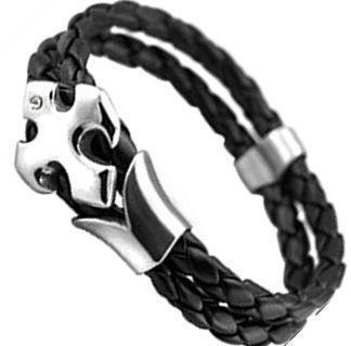 Кожаный браслет LQS-14-B109NT-H