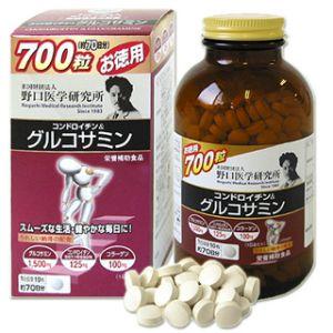 NOGUCHI Глюкозамин + Хондроитин + Коллаген на 70 дней