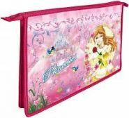 Папка для труда А4 молния сверху 81Тр45 845810 печать ''Прекрасные принцессы'' (00785)