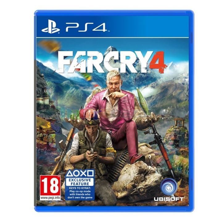 Игра Far Cry 4 (PS4)