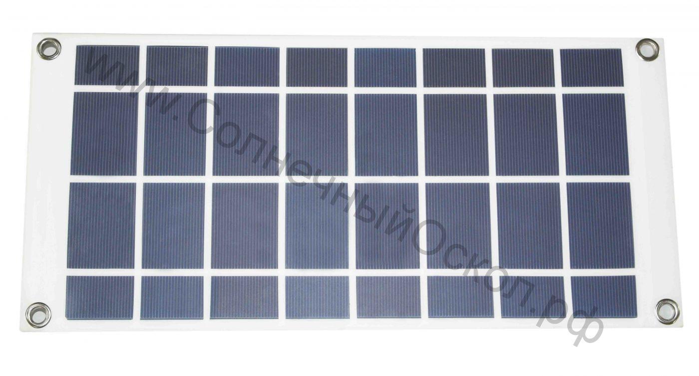 Солнечная панель «СветОК 7-5» 7 ватт 5 вольт (мобильная)