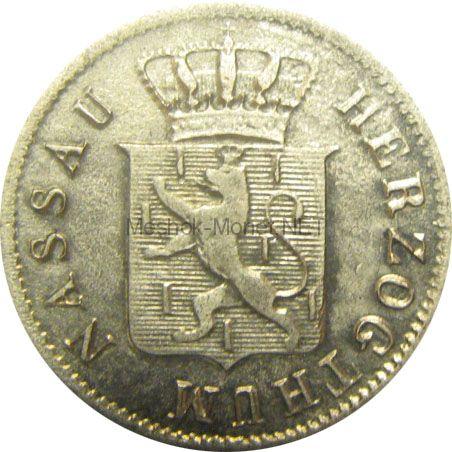 Нассау 3 крейцера 1841 г.