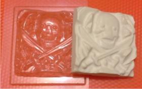 Форма для мыла Пират