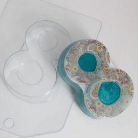 Форма для мыла 8 Марта/Плоское