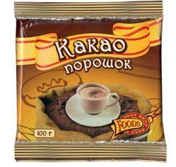 BEST  FOODS Какао-порошок 100 г в мягкой упаковке
