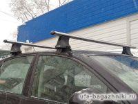 Багажник на крышу Audi A6 Type C5, Атлант, аэродинамические дуги