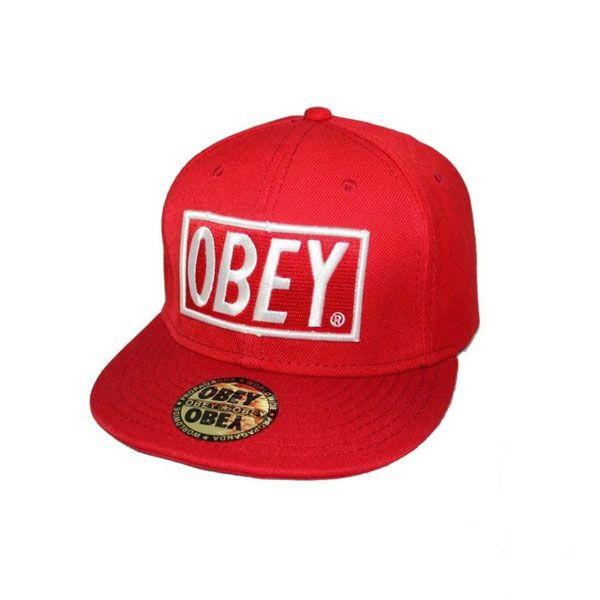 Кепка Obey (красная)