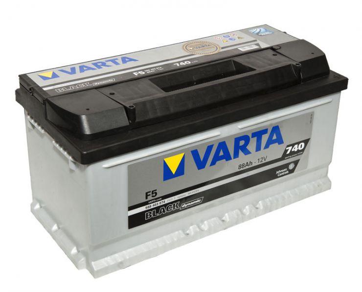 Автомобильный аккумулятор АКБ VARTA (ВАРТА) Black Dynamic 588 403 074 F5 88Ач ОП