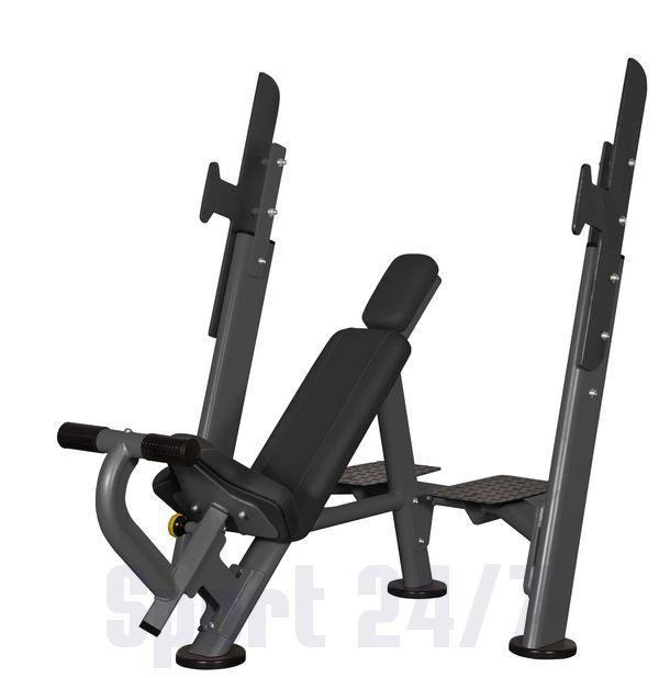 Скамья для жима с положительным наклоном AFB101 Spirit Fitness
