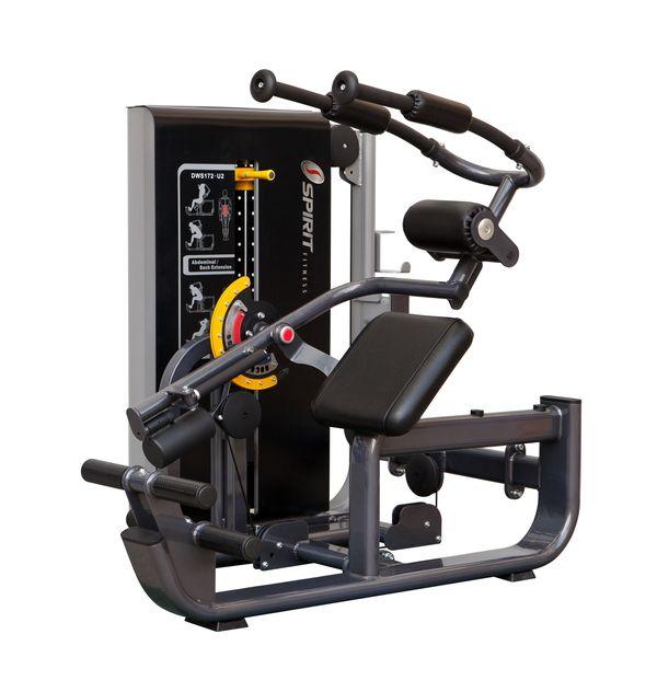 Пресс машина/разгибание спины DWS172-U2 Spirit Fitness
